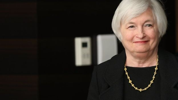 A economista Janet Yellen comandou o FED, banco central dos Estados Unidos (Foto: Getty Images)