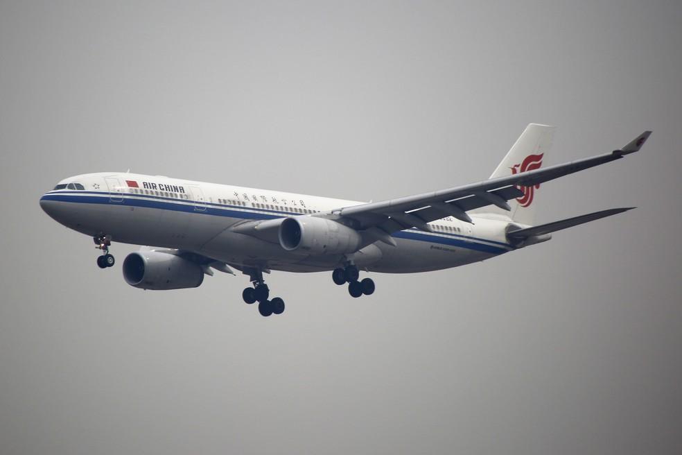 -  Aeronave da Air China decola no aeroporto de Pequim, em imagem de arquivo  Foto: REUTERS/Kim Kyung-Hoon