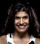 Lutador desafiante Jessica Aguilar