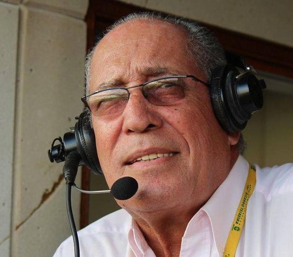 Arivaldo Maia é narrador esportivo desde a juventude — Foto: Arquivo Pessoal