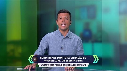 Vágner Love inicia conversa para rescisão de contrato na Turquia; Corinthians monitora