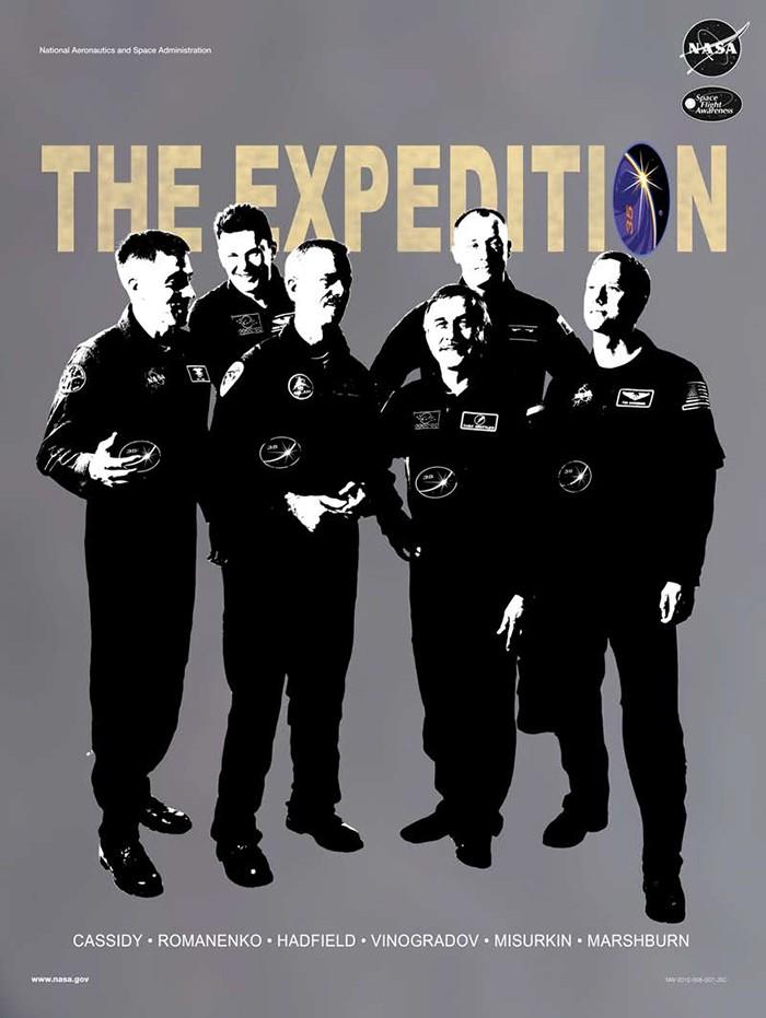 Expedição 36  (Foto: NASA)