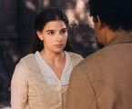 Gabriela Medvedovski e Michel Gomes em cena como Pilar e Samuel em 'Nos tempos do Imperador' | Globo