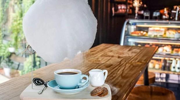 café; algodão-doce; (Foto: Divulgação)