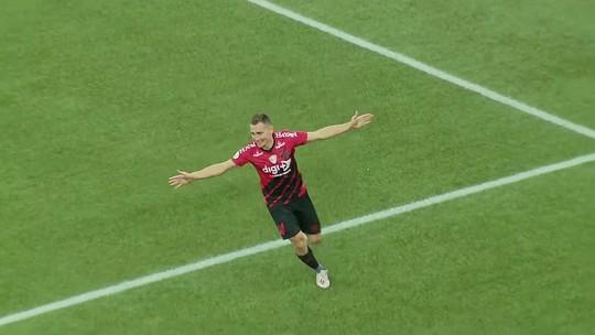 Veja o gol de Marco Ruben e os melhores momentos de Athletico 1x0 Santos, pelo Brasileirão