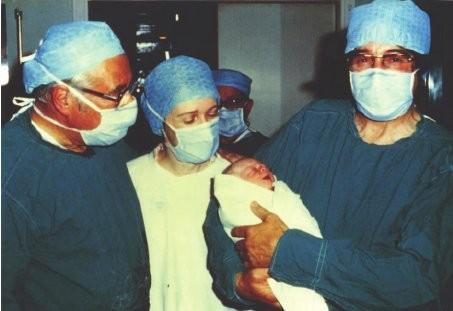 Louise foi o primeiro bebê de proveta (Foto: Reprodução/Twitter)