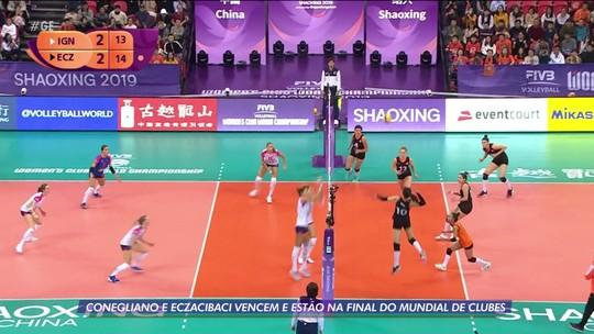 Conegliano e Eczacibasi vencem e fazem a final do Mundial de Clubes de vôlei feminino