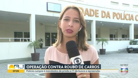 PMs são presos em ação contra quadrilha de roubo e clonagem de carros no RJ