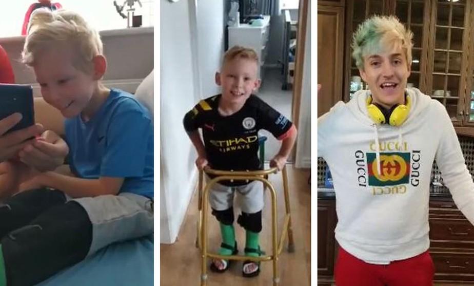 Ninja quebra internet ao postar vídeo de apoio a fã com paralisia cerebral: