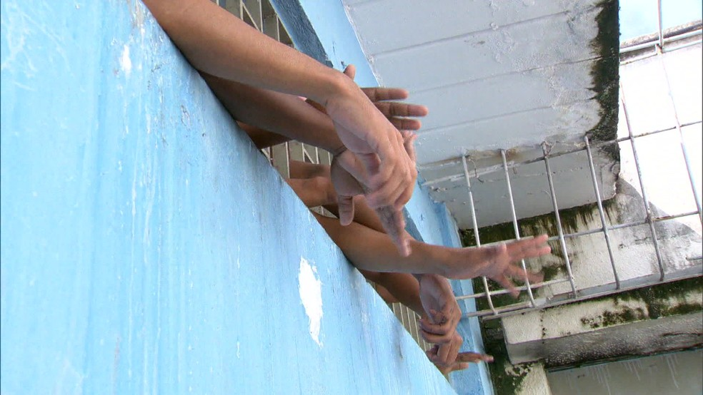 Unidades de cumprimento de medidas socioeducativas estão superlotadas — Foto: Reprodução / TV Globo