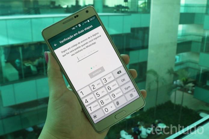 WhatsApp estreia código de acesso; entenda a verificação em duas etapas |  Notícias | TechTudo