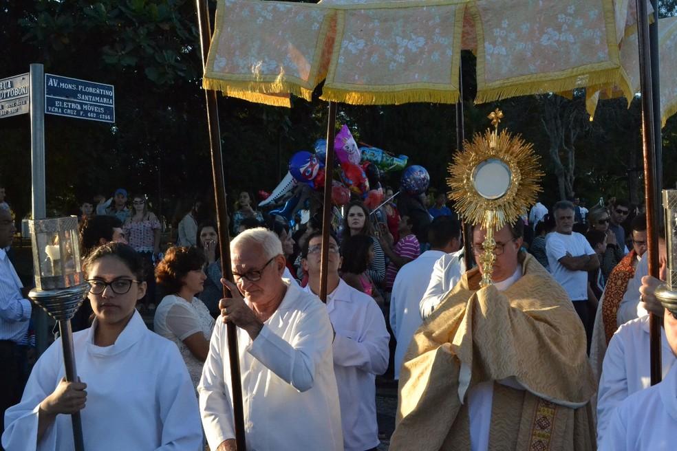 Celebração é realizada há mais de 80 anos em Vera Cruz  (Foto: Divulgação )