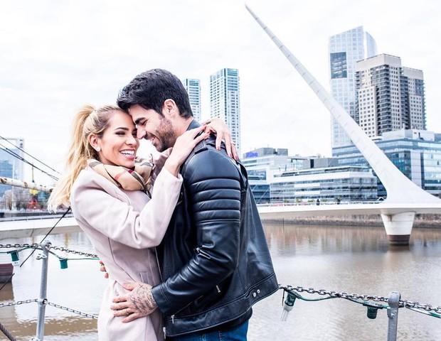 Adriana Sant'Anna e Rodrigão (Foto: Reprodução/Instagram)