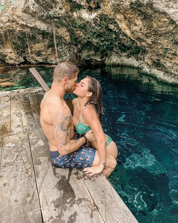 Mari Gonzalez e Jonas Sulzbach (Foto: Reprodução/Instagram)