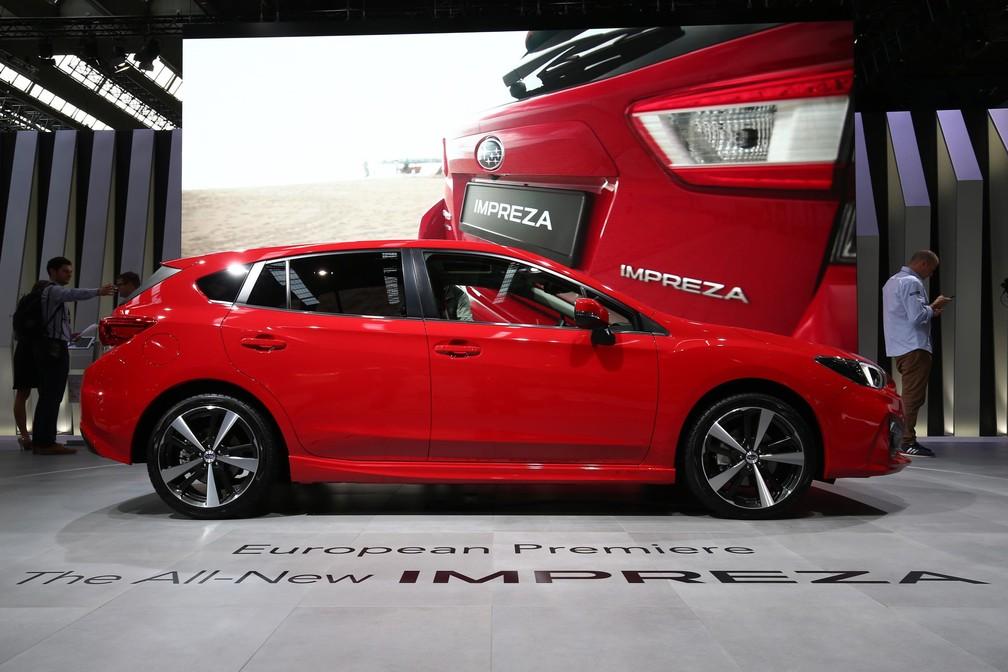 Subaru Impreza (Foto: Divulgação/Newspress)