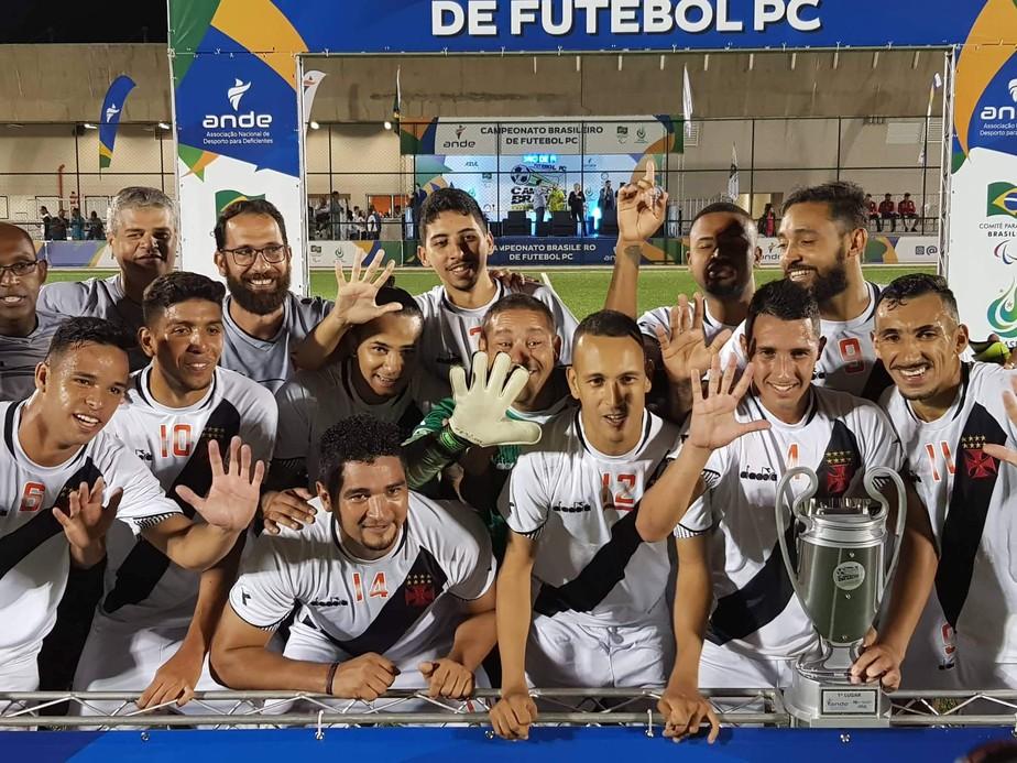 Vasco vence CETEFE  e é pentacampeão brasileiro de futebol de 7 paralímpico