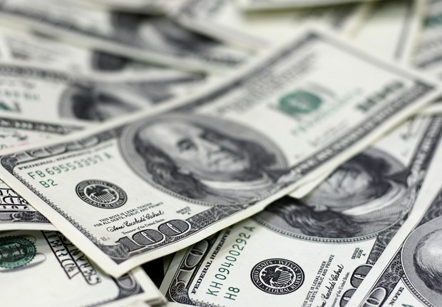 Dólar moeda americana dólares economia dos EUA câmbio (Foto: Shutterstock)