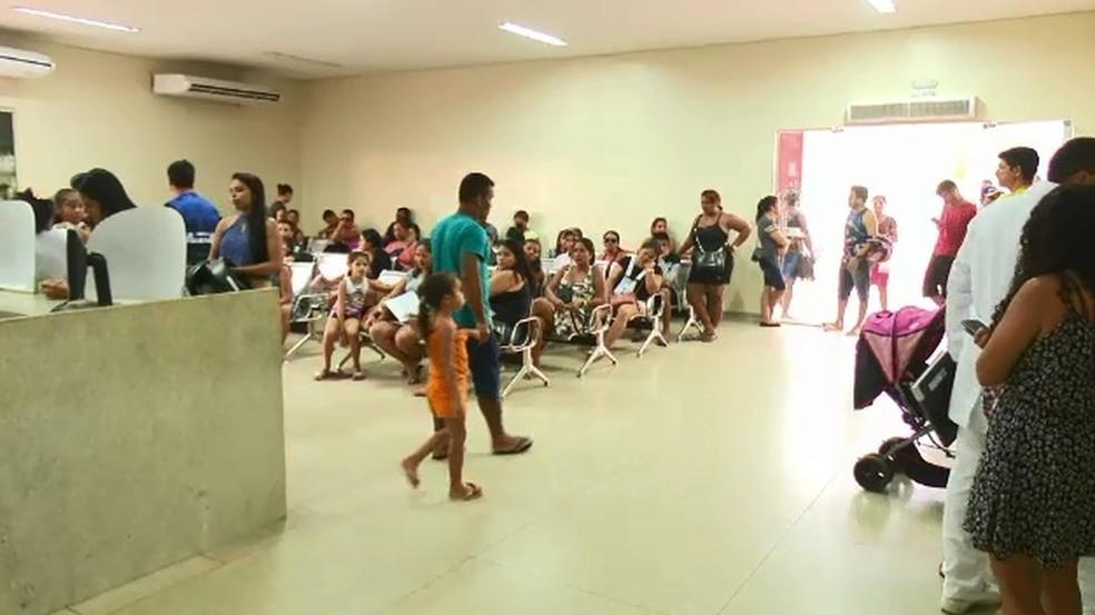 Em uma semana, Unidade de Pronto Atendimento registrou 153 casos de conjuntivite (Foto: Reprodução Rede Amazônica)