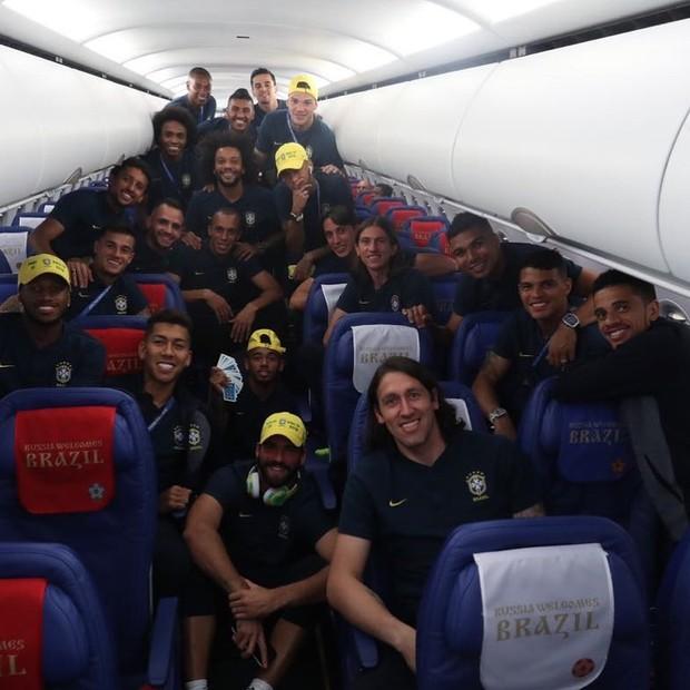 A Seleção Brasileira da Copa 2018 (Foto: Reprodução/Instagram)
