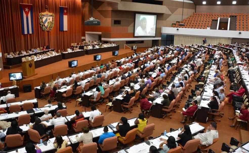 Assembleia de Cuba aprova projeto de mudança na Constituição do país (Foto: Divulgação / Juvenal Balán / Granma)