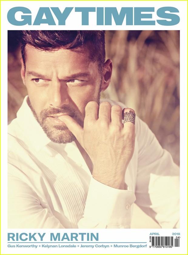 Ricky Martin (Foto: Reprodução/GayTimes)