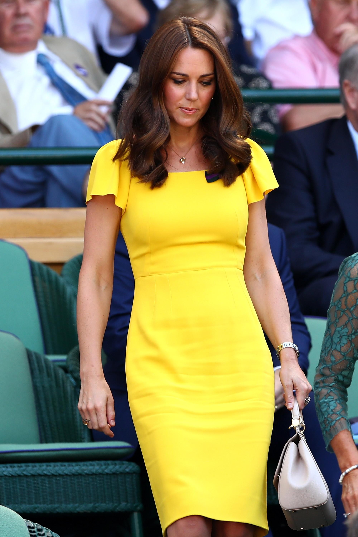 Kate Middleton usou um vestido Dolce & Gabanna  (Foto: Getty Images)