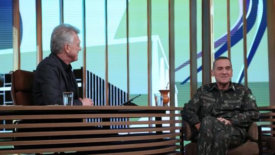 General Eduardo Villas Bôas diz acreditar no Brasil: 'Um país com um potencial como o nosso é claro que tem jeito'