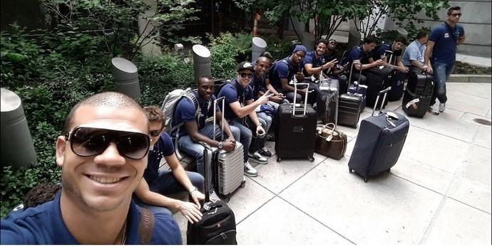 Delegação do Cruzeiro já está nos EUA: Boston é a primeira parada