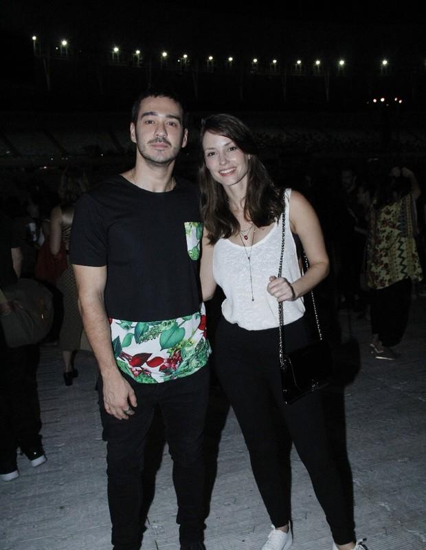 Marcos Vera e Rosana Mullholland (Foto: AgNews/Wallace Barbosa)