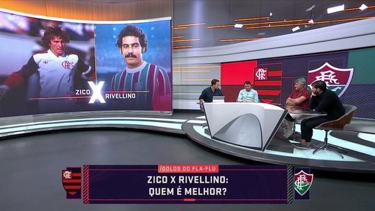 Quem é melhor? Comentaristas elegem os melhores da história de Flamengo e Fluminense