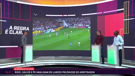 """A Regra é Clara: """"Nino atropela o Gabigol"""", diz Sálvio sobre pênalti não marcado no Fla-Flu"""