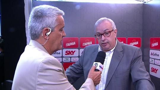 """Presidente pede concentração ao Corinthians para """"retomada rumo ao título"""""""