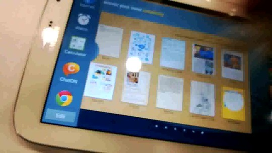 Galaxy Note 8.0: teste do primeiro tablet da Samsung com 8 polegadas