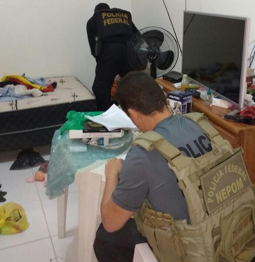 Mandados estão sendo cumpridos em mais de 50 cidades de 14 estados brasileiros (Foto: Divulgação/PF)