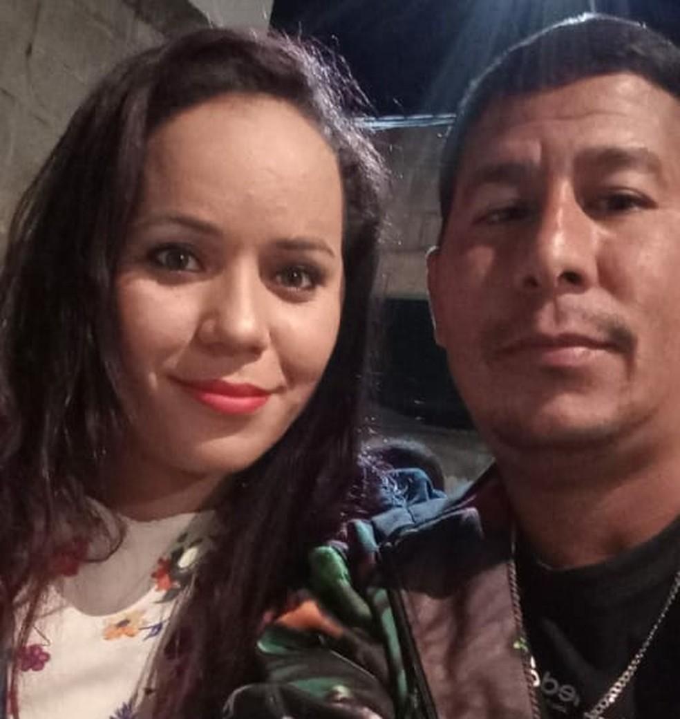 Casal morreu após ser atingido por fiação na Rodovia do Contorno — Foto: Reprodução/Facebook