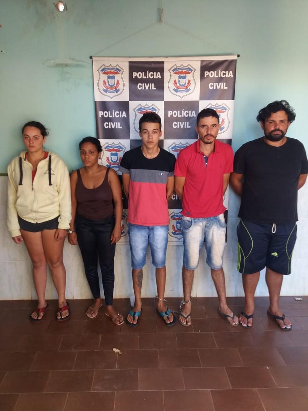 Outros cinco estão presos por envolvimento no crime, segundo a polícia (Foto: Polícia Civil/Divulgação)