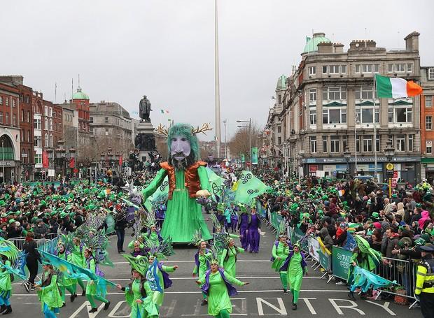Na Irlanda, o feriado de St. Patrick's Day acontece no dia 17 de março (Foto: The Independent)