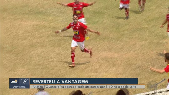 Atlético de Três Corações faz 3 a 1 no Valadares e abre vantagem nas quartas da Segundona