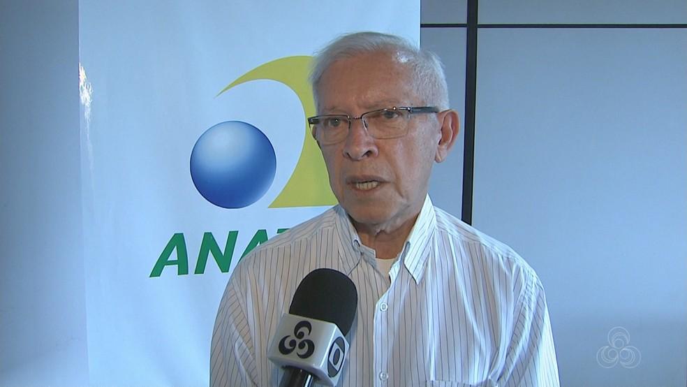 O presidente da Anatel, Juarez Quadros — Foto: Reprodução/Rede Amazônica Acre