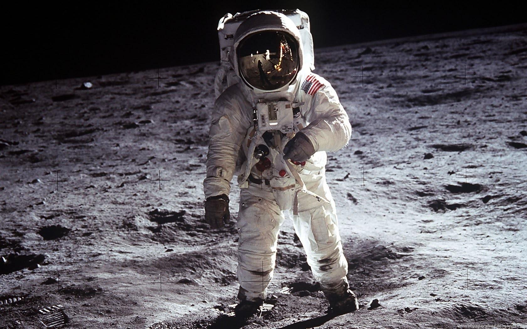 Homem na Lua (Foto: Reprodução)