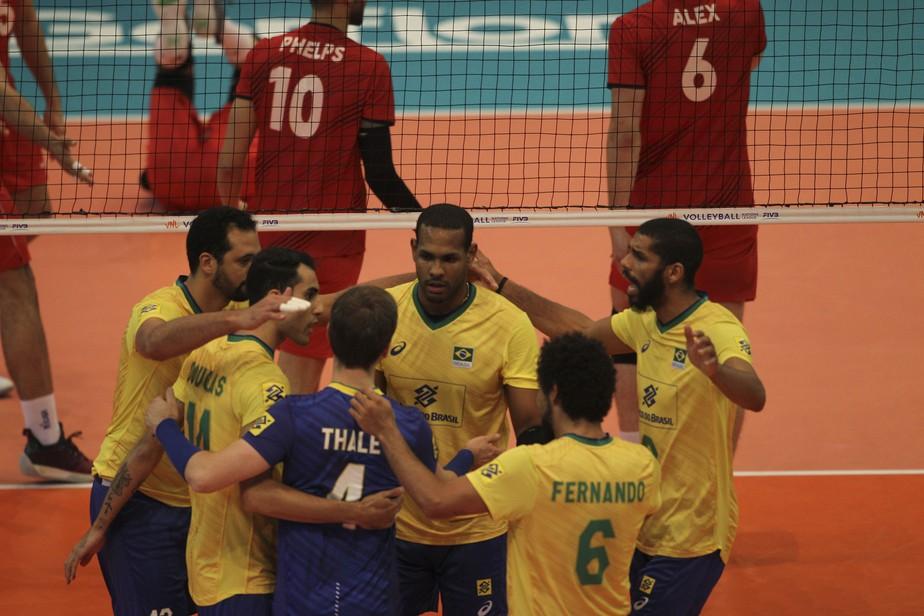 Brasil fecha etapa da Liga das Nações com vitória sobre Portugal e faz as malas para jogos em casa