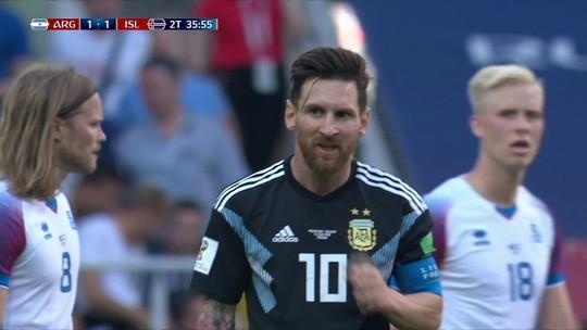 """Grafite critica Argentina: """"Quando Messi não tem dia de ET, acontece isso"""""""
