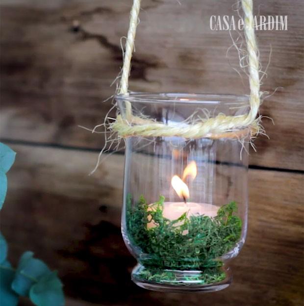 30 vezes Natal: decore a casa com velas pendentes