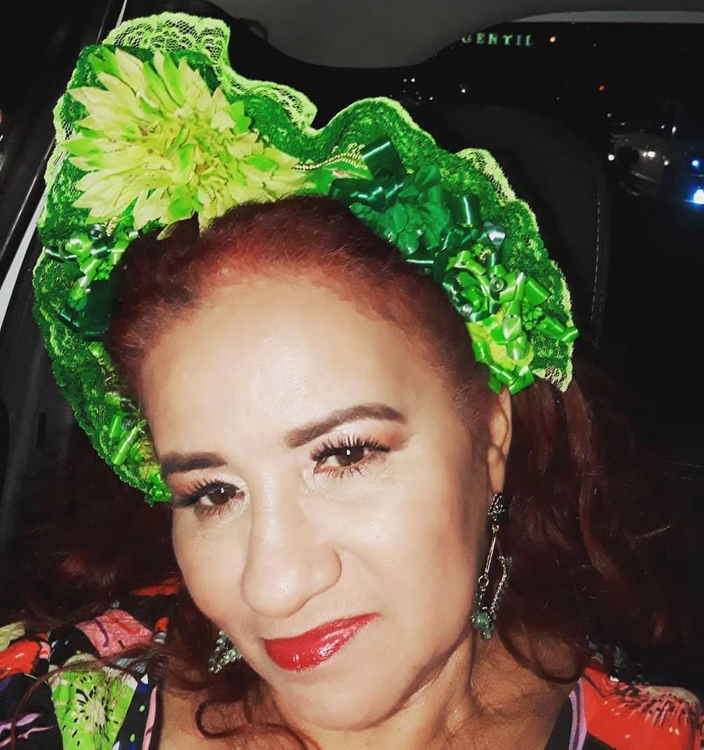 Cantora paraense Cleide Moraes  — Foto: Reprodução Instagram/cleidemoraesoficial