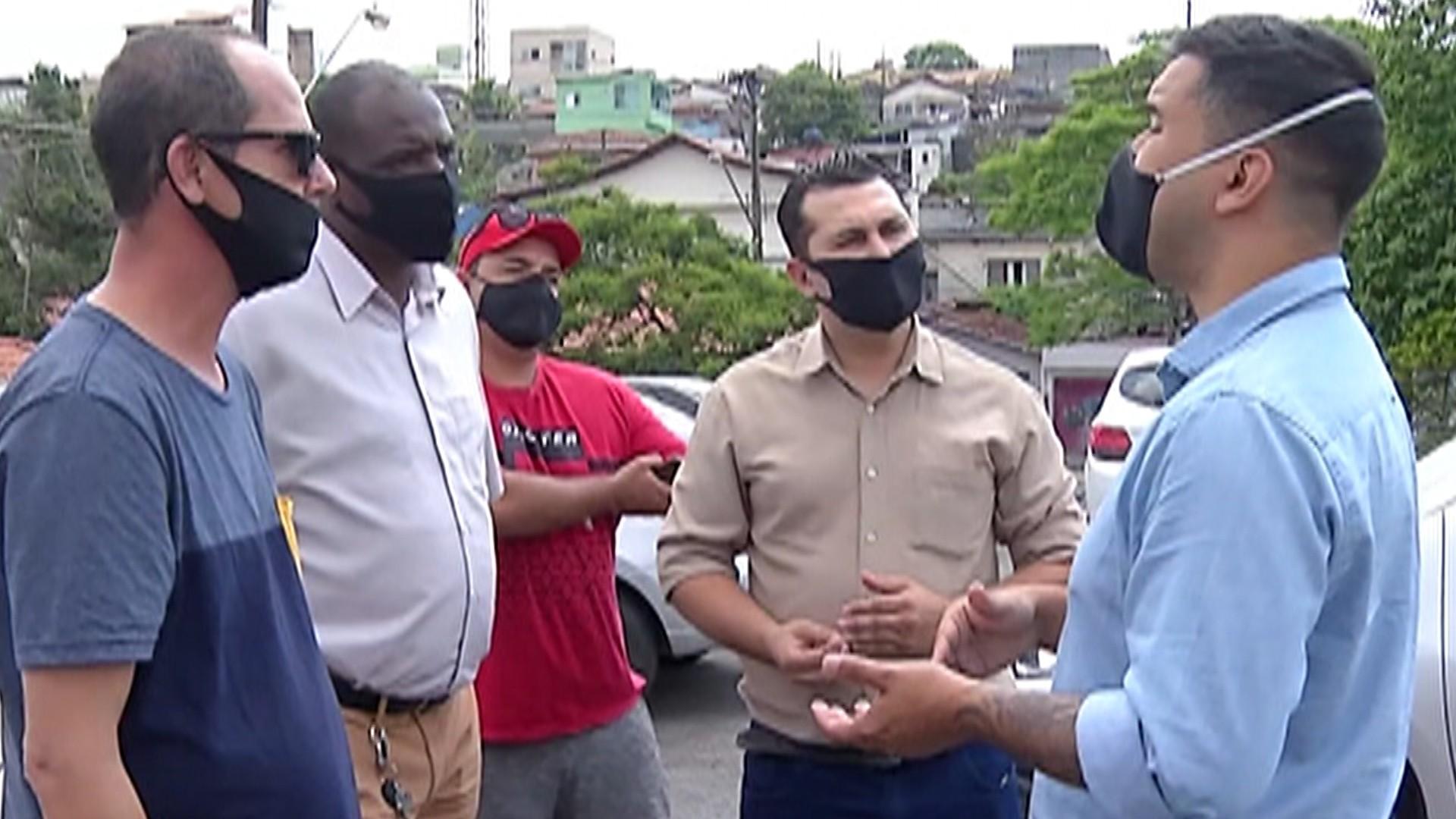 Mobilidade urbana é tema da visita do candidato a prefeito de Mogi das Cruzes, Caio Cunha ao Distrito de Brás Cubas
