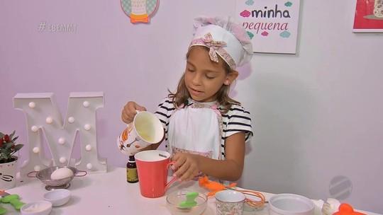 Sucesso da internet, a cozinheira mirim Marina Pretti no É Bem Mato Grosso