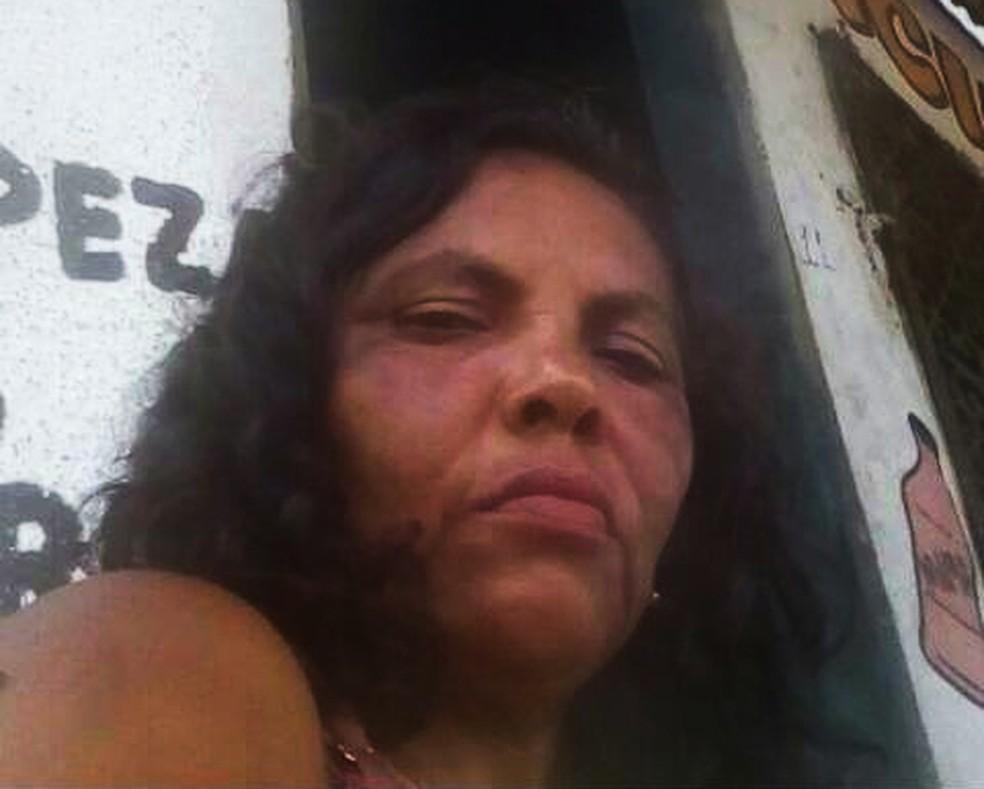 Silvaneide Maurício do Nascimento, de 47 anos, foi morta a facadas na Grande Natal — Foto: Cedida