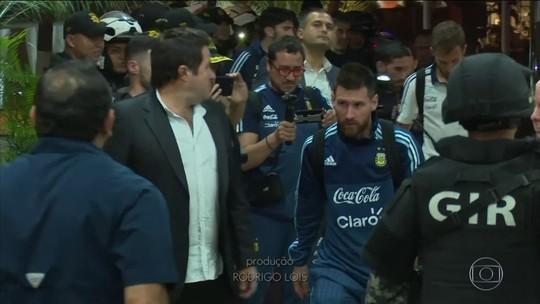 Entre vexame, alívio e o destino de Messi: Argentina pega o Equador para ir à Copa