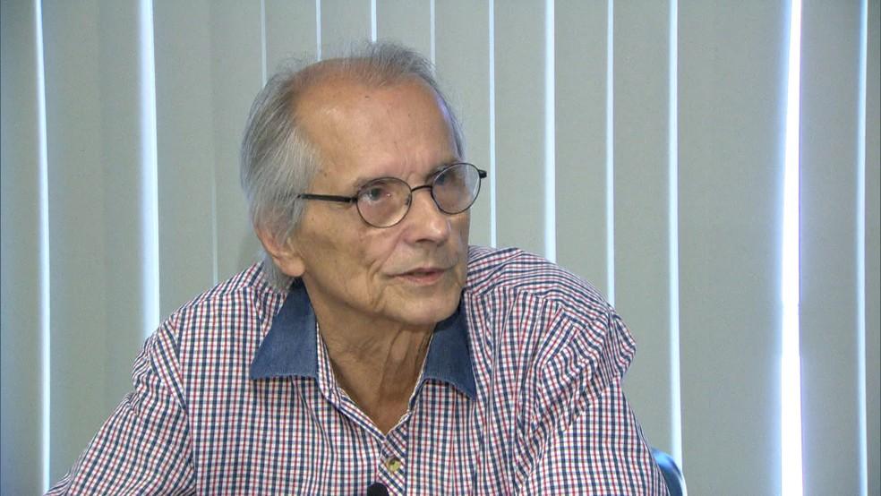 Vice-prefeito Rio, Fernando Mac Dowell, morreu aos 72 anos (Foto: Reprodução / TV Globo)