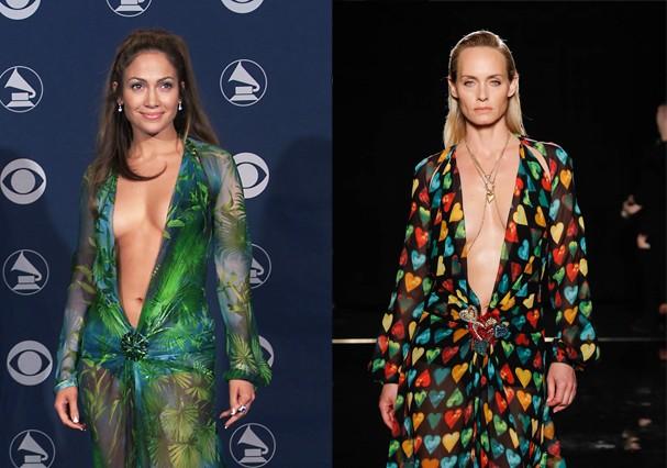 Versace relança icônico vestido de 2000 (Foto: Getty Images)